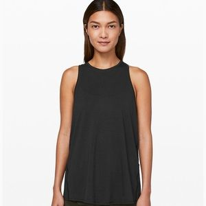 lululemon athletica Tops - LuluLemon Black All Tied Up Tank Size 6